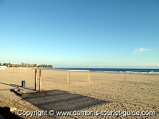 One of the Beaches in Cambrils