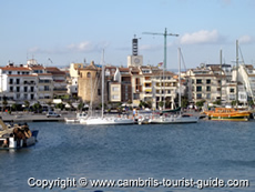 The View from the Pier in Cambrils
