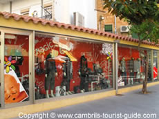 Desigual in Cambrils Shopping Area