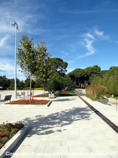 The Paved Area in El Pinaret Park