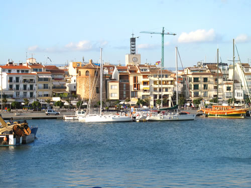 A View of Cambrils from the Pier