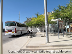 The Bus Station in Cambrils